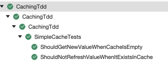 should not refresh value when it exists in cache run passes